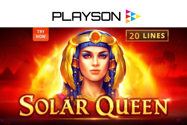 Egyptian quest awaits slots fans in Playson's Solar Queen