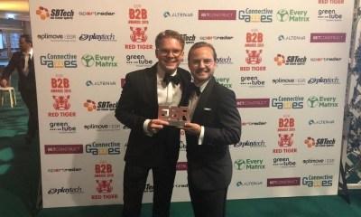 """Together Gaming Wins """"White label partner"""" Prize at 2019 EGR B2B Awards"""