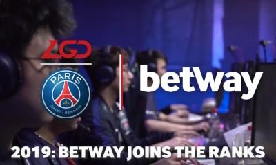 Betway and PSG.LGD seal six-figure sponsorship