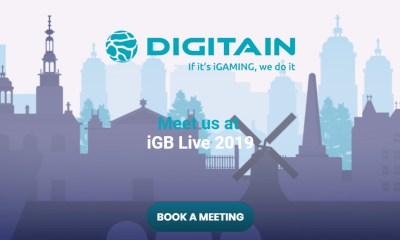 Digitain remains an emerging force at iGB Live!