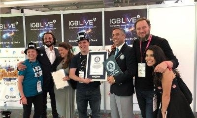 Gluck Games break a Guinness World Record at iGB Live