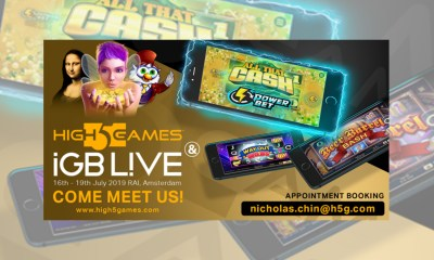 High 5 Games primed for further European expansion with iGB Live! appearance