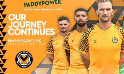 "Newport County Joins Paddy Power's ""Save Our Shirt"" Campaign"