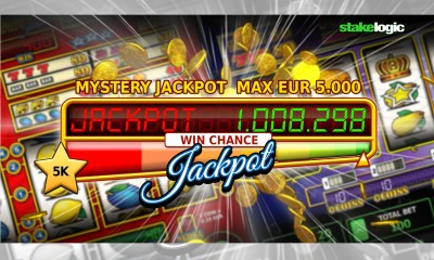 Jackpot Pay-out of Stakelogic Hits €1Million