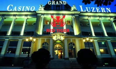 Red Tiger teams up with mycasino.ch by Grand Casino Luzern