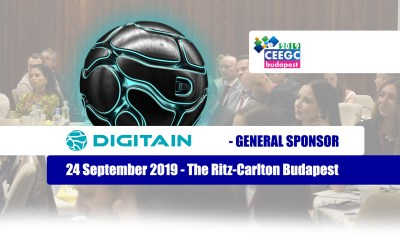DIGITAIN announced as General Sponsor at CEEGC2019 Budapest