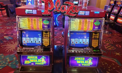 Plaza Hotel & Casino to give away vintage coin operated slot and video poker machines in October