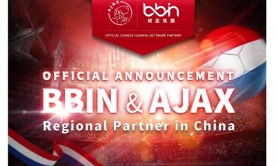 BBIN & Ajax Initiate Close Partnership for the China Region
