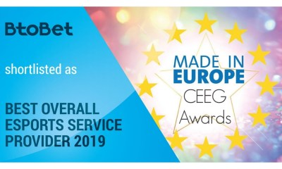 BtoBet shortlisted for CEEG Awards