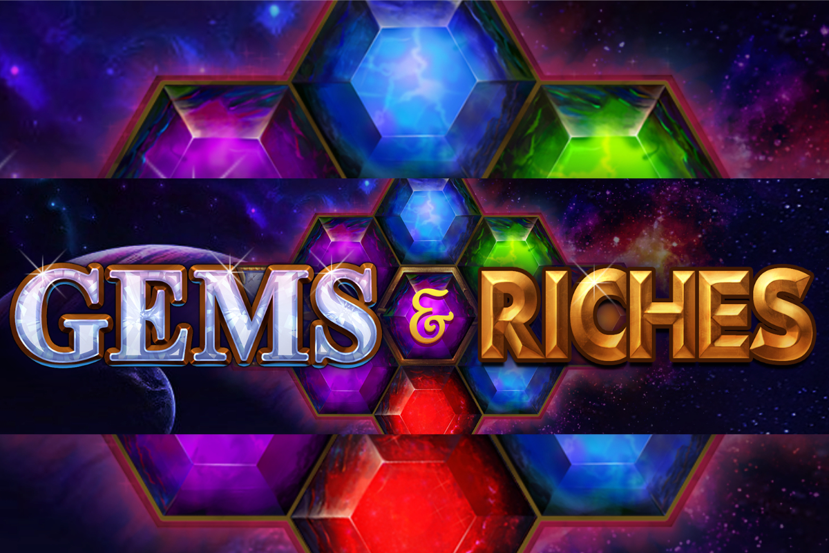 "Pariplay Launches New Online Slot Game ""Gems & Riches"""