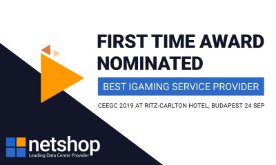NetShop Internet Services – Leading Data Center Provider is shortlisted at the CEEG Awards 2019