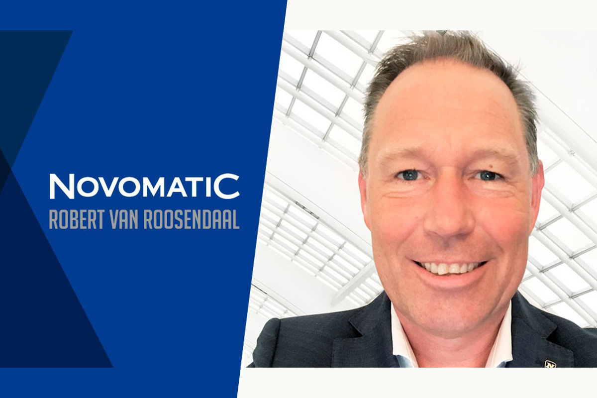 NOVOMATIC Appoints Robert van Roosendaal as its Key Account Director