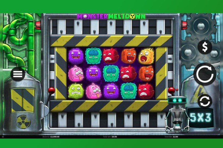 Endemol Shine Gaming Launches Monster Meltdown Video Slot