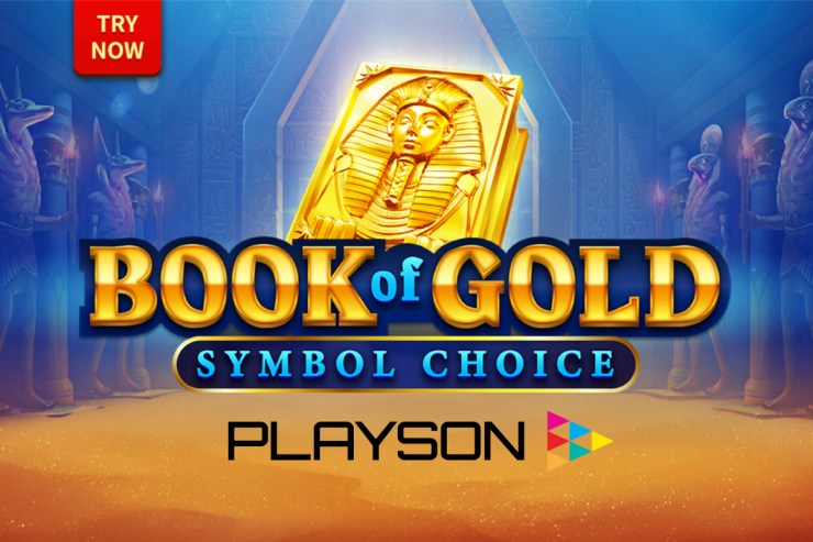 Playson creates Egyptian adventure with Book of Gold: Symbol Choice