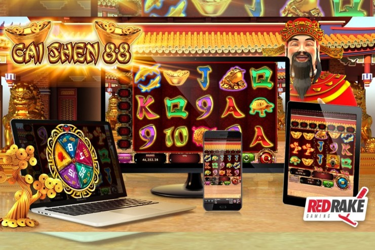 Worship Cai Shen, the God of Wealth, with this new video slot from Red Rake Gaming