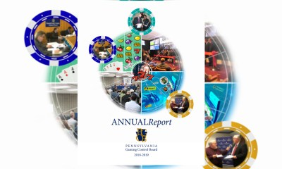 2018-2019 Annual Report of the Pennsylvania Gaming Control Board Released