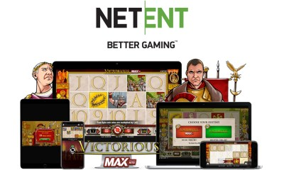 NetEnt takes Victorious to the MAX