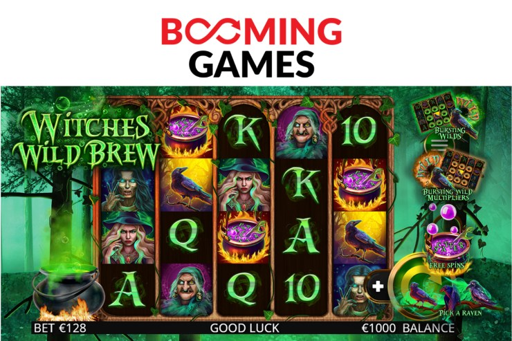 Booming Games - Witches Wild Brew