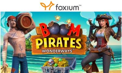 """Foxium - """"Boom Pirates"""" Slot"""