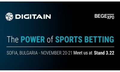 Digitain to take centre stage at BEGE