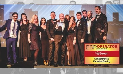Evolution's MONOPOLY Live crowned Game of the Year at EGR Operator Awards