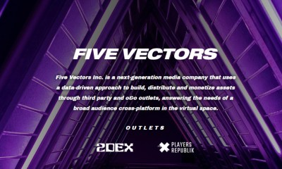 Five Vectors Closes $1M Seed Round Led By BITKRAFT Esports Ventures