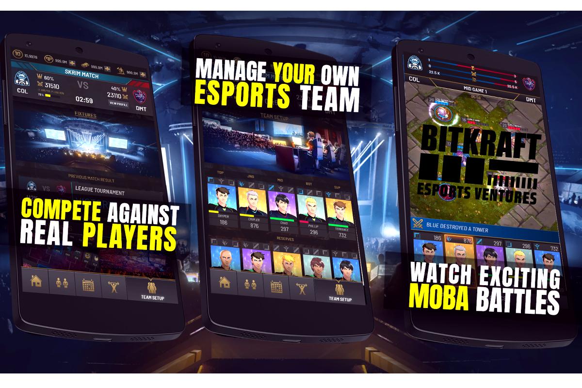 META Games, the Creators of Mobile Esports Management Simulators, Closes a $2 Million Seed Round Led by BITKRAFT Esports Ventures