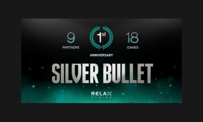 Relax Gaming achieves monumental year with Silver Bullet partners