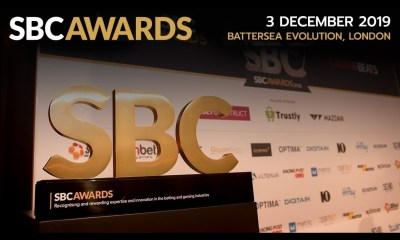 Tom Horn shortlisted at SBC Awards 2019