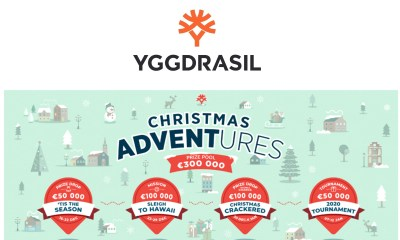 Yggdrasil gets festive with Christmas ADVENTures campaign