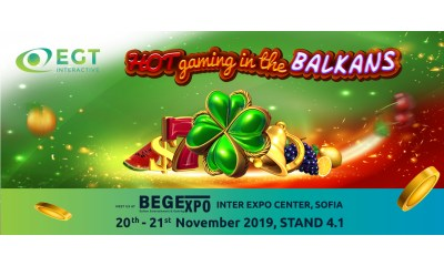 EGT Interactive will exhibit at the 12th BEGExpo in Bulgaria