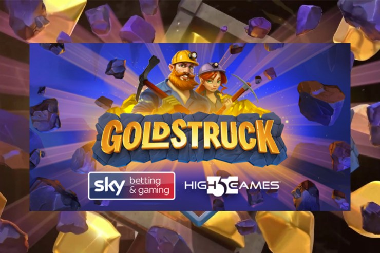 High 5 Games - Goldstruck with new operator partner Sky Betting & Gaming
