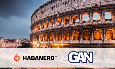 Habanero goes live with GAN in Italy