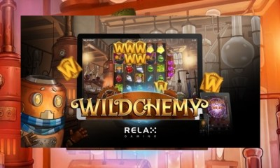 Relax Gaming tests the elements in new slot Wildchemy