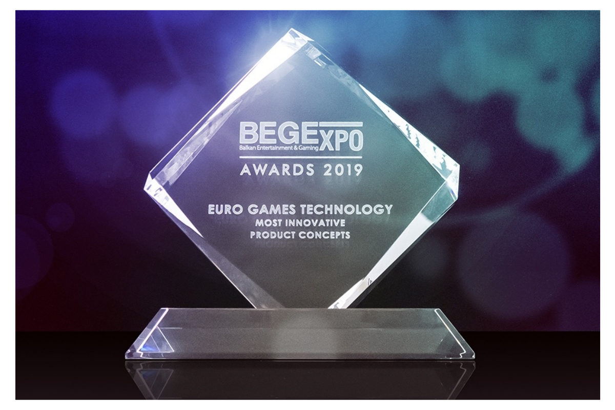 EGT receives several accolades at the BEGE Awards 2019