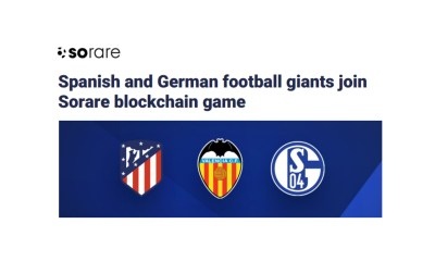 Spanish and German football giants join Sorare blockchain game