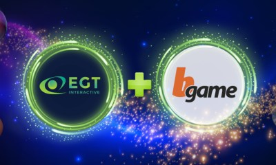 EGT's portfolio of online casino slots goes live in Italy through the operator network of Bgame Srl