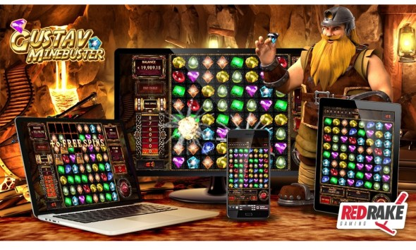 Explosive wins in the new video slot from Red Rake Gaming: Gustav Minebuster