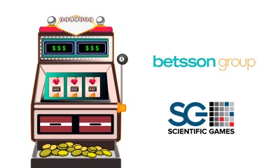 Scientific Games Launches Industry's First Syndicated Slots Jackpot with Betsson