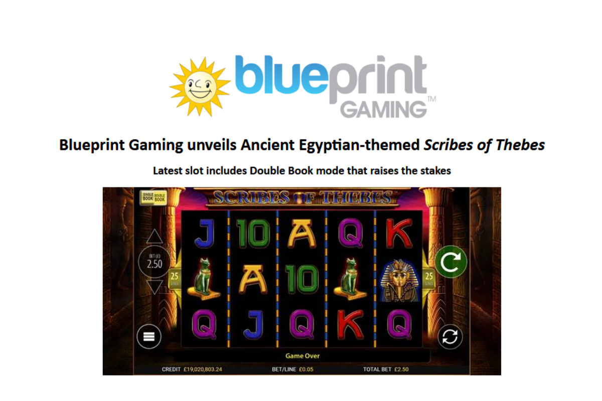 Blueprint Gaming unveils Ancient Egyptian-themed Scribes of Thebes