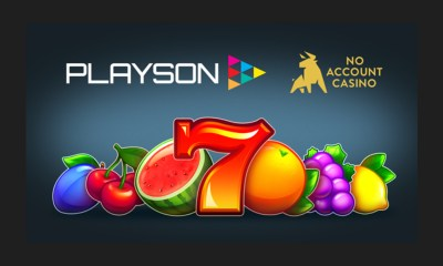 Playson signs content deal with No Account Casino