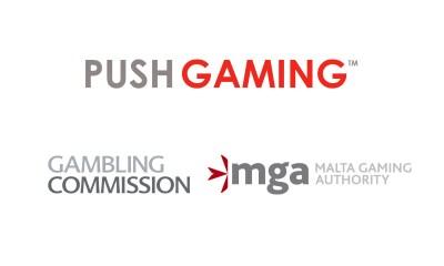 Push Gaming awarded UK and Malta licences