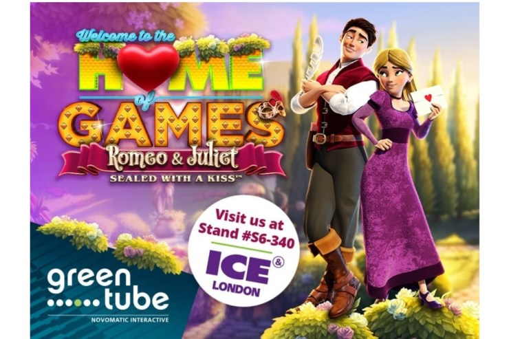Greentube to reveal Romeo & Juliet – Sealed with a Kiss™ at ICE London 2020