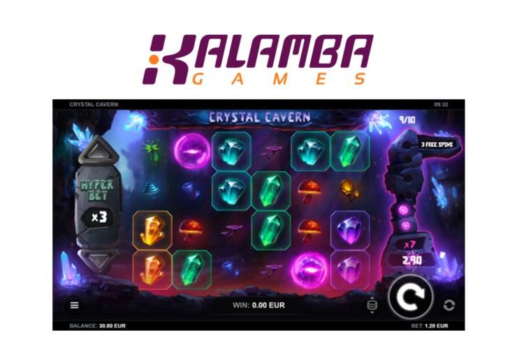 Kalamba Games new slot Crystal Cavern
