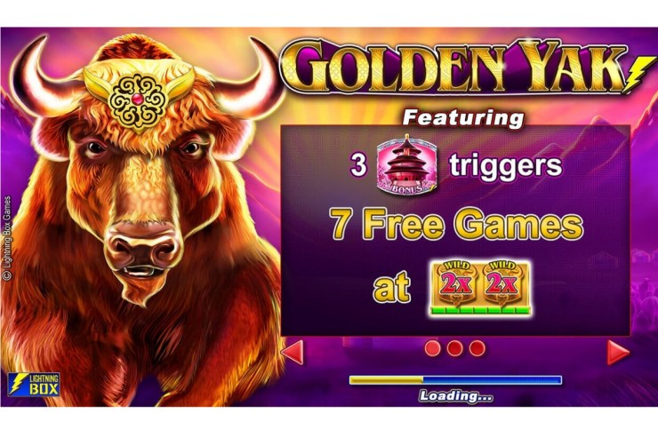 Lightning Box - Golden Yak set to debut with Bet365