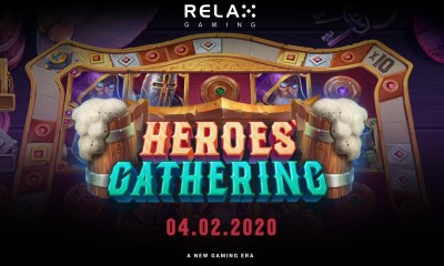 Relax Gaming's new slot Heroes' Gathering