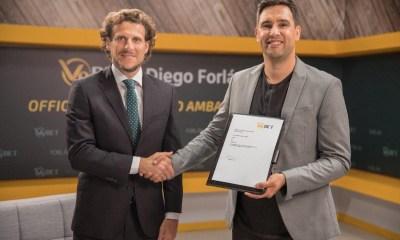 V9BET Announces Diego Forlán As Its First Ever Brand Ambassador
