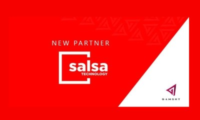 Salsa Technology signs content partnership with Gamshy