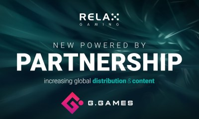 Relax Gaming signs Powered By deal with G.Games