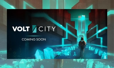 Behind the Scenes: Official First Glimpse of Volt City